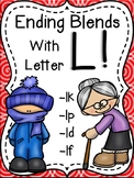 Final Consonant L Blends LK, LT, LD, LF, LP!