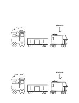 Final Consonant Train Visual (CVC Words)