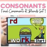 Final Consonants R Ending Blends Boom Cards Set 1