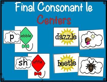 Final Consonants le Centers