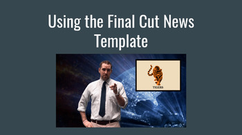 Final Cut News Broadcast Template for Student Broadcasts and TPT Sellers!