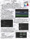 Final Cut Pro X - Audio Correction and Adjustment