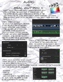 Final Cut Pro X - Audio Correction and Adjustment