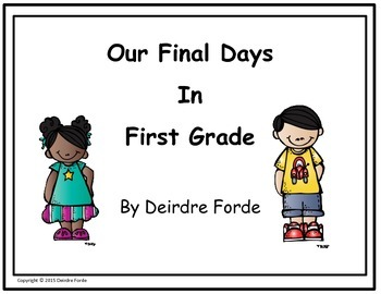 End of Year Memory Book - First Grade