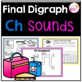 Final Digraph Ch Sounds