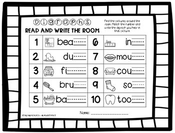 Final Digraph Write the Room