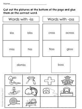 Double Consonant Endings  32 No Prep Spelling Practice Sheets