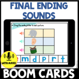 Ending Sounds BOOM CARDS