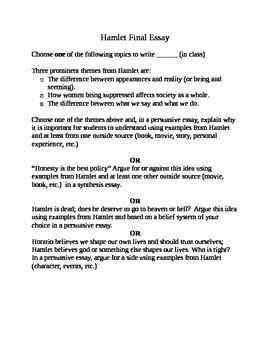 6 Free Essay Topics for Hamlet: Enjoyable, Unique, and Cha