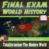 Final Exam   World History   2nd Semester   Editable   Grades 9-12