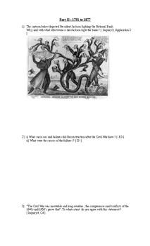 Final Exam American History 11 ( CHA3U )
