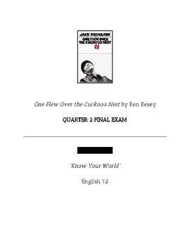Final Exam: One Flew Over the Cuckoo's Nest *Accommodations included*