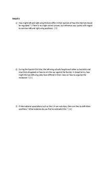 Final Exam Politics 12 ( CPW4U )