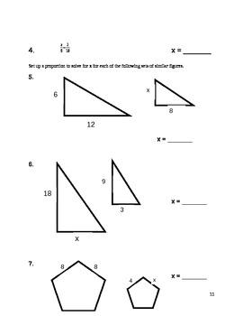 Final Exam Review Packet - 7th Grade Math