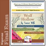 Final Exam: Wolf Hollow, includes Part A, Part B Questions (Print + DIGITAL)