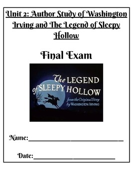 Final Exam for Sleepy Hollow (adapted version)