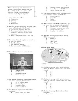 Final Exam for World History II