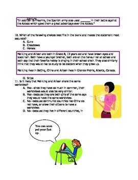 Worldviews Final Exam for Grade Eight