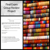 Final Exam/End of Year Group Review Project: All Subjects