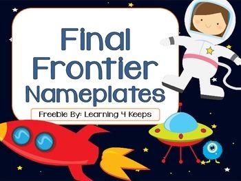 Final Frontier Nameplates