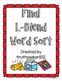 Final L-Blends Word Sort