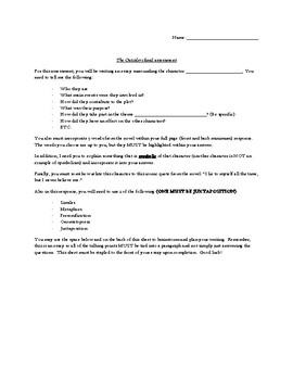 Final Novel Assessment- The Outsiders