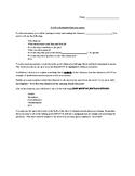 Final Novel Assessment- To Kill a Mockingbird