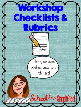 Checklists and Rubrics