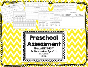 Final Preschool Assessment