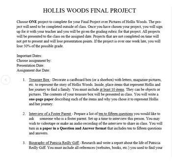 Pictures Of Hollis Woods Pdf