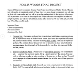 Final Projects for Pictures of Hollis Woods
