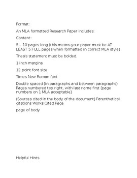 Final Research Paper Project