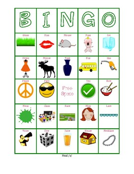 Final S Bingo