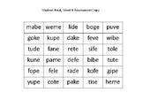 Final, Silent E Syllable Rule