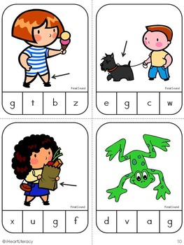 Final Sound Match Game: Kindergarten & 1st Grade RTI