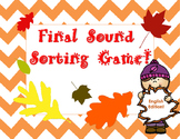 Final Sound Sorting game (English Edtion)