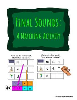 Final Sounds- A Matching Activity