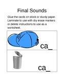 Final Sounds - CVC Words