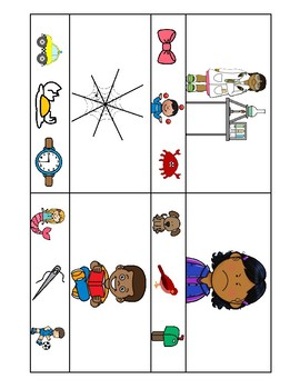 Final Sounds Clip Cards - Phonological Awareness Intervention Activity