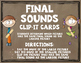 Final Sounds Clip It Cards