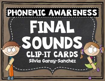 Final Sounds Clip It Cards