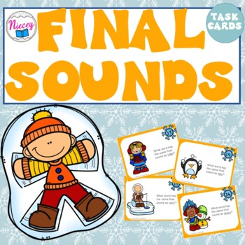 Final Sounds ~ Task Cards