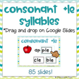 Final Stable Syllable: Consonant LE (Distance Learning-Pho