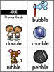 Final Stable Syllables Pocket Charts or Flip Cards