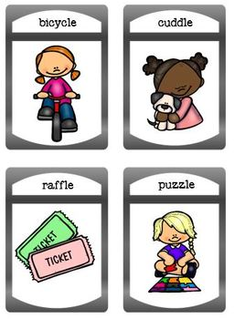 Final Stable Syllables Binder Match and Flashcard Set