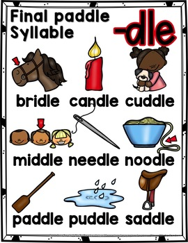 Final Stable Syllables -LE Sound {-DLE}