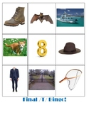 Final /T/ Word Picture BINGO