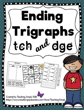 Final Trigraphs dge and tch