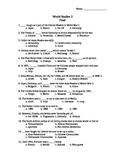 Final Exam - WWI, Totalitarian govs, WWII, Cold War, Etc - 2nd Semester Review