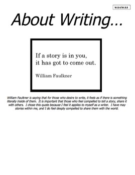 Final Writing Exam Portfolio